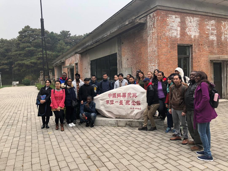 """2018""""感知中国-两弹一星""""文化品牌活动在我校顺利举行"""