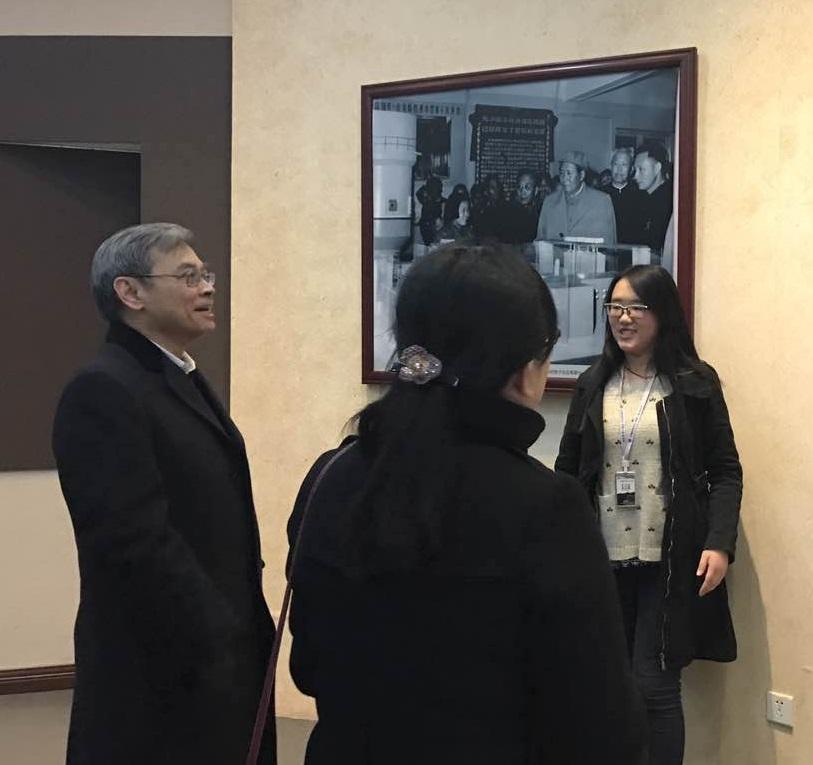 """郑洪院士参观中国科学院与""""两弹一星""""纪念馆"""